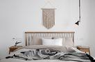 经济型70平米北欧风格卧室装修效果图