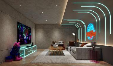豪华型140平米复式现代简约风格影音室欣赏图