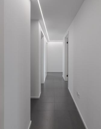 110平米三日式风格走廊设计图
