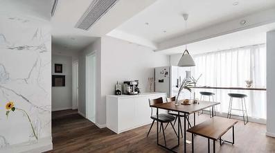 经济型140平米四室一厅现代简约风格餐厅装修图片大全