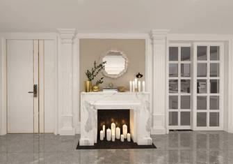 豪华型140平米三室两厅欧式风格玄关图片大全