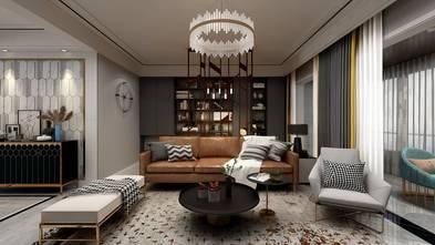140平米四轻奢风格客厅欣赏图