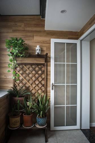 140平米三室三厅中式风格阳台装修图片大全