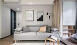 经济型60平米欧式风格客厅欣赏图