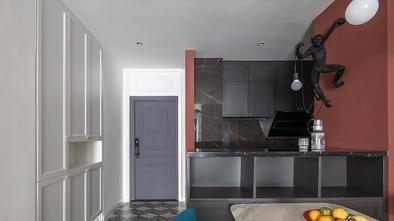 70平米三室两厅轻奢风格厨房图片大全