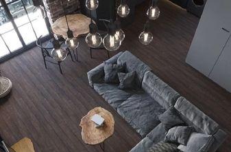 经济型60平米一室一厅英伦风格客厅装修效果图