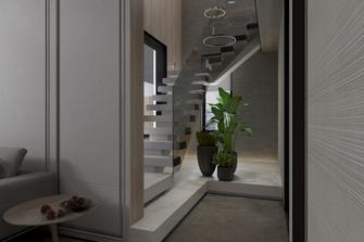 豪华型140平米别墅轻奢风格楼梯间图片