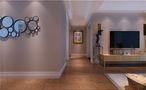 10-15万100平米三室两厅美式风格走廊效果图