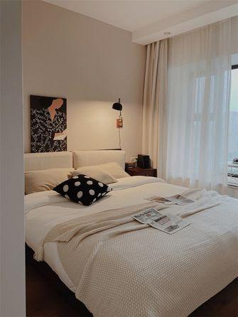 经济型100平米三室两厅日式风格卧室欣赏图