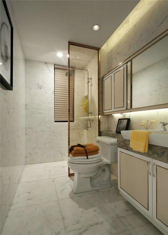 20万以上90平米三室一厅欧式风格卫生间设计图