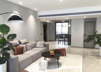 100平米混搭风格客厅设计图