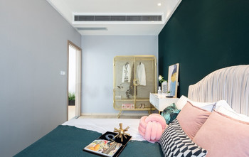5-10万50平米一室一厅轻奢风格卧室欣赏图