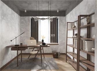5-10万110平米三室两厅工业风风格书房图片