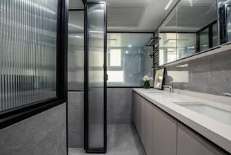 豪华型130平米三室两厅美式风格卫生间图片大全