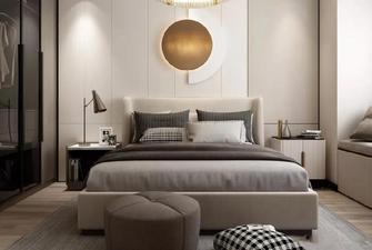 经济型100平米三现代简约风格卧室欣赏图