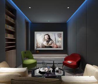 140平米复式现代简约风格影音室图