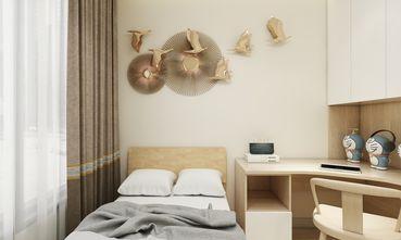 90平米四室一厅日式风格卧室装修案例