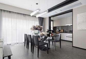 10-15万80平米三室三厅轻奢风格餐厅装修图片大全