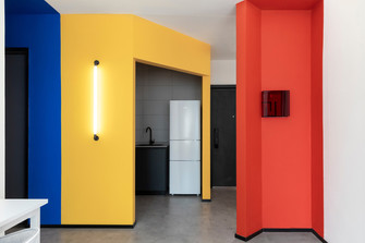 70平米公寓欧式风格玄关装修案例