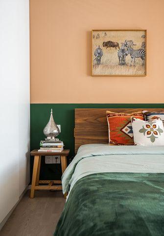 经济型50平米一室一厅田园风格卧室设计图