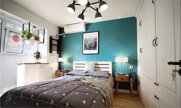 经济型60平米中式风格卧室设计图