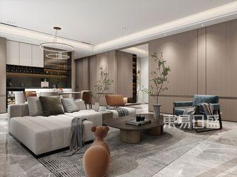20万以上140平米四室两厅现代简约风格客厅设计图