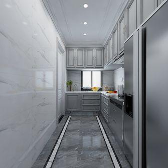 富裕型140平米三室两厅美式风格厨房图片大全
