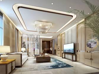 豪华型140平米复式中式风格客厅装修案例
