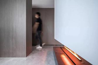 5-10万120平米三室两厅现代简约风格书房装修案例