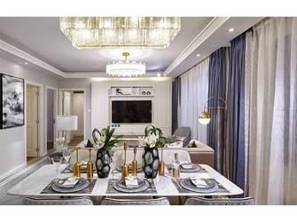 15-20万80平米三室一厅美式风格客厅欣赏图