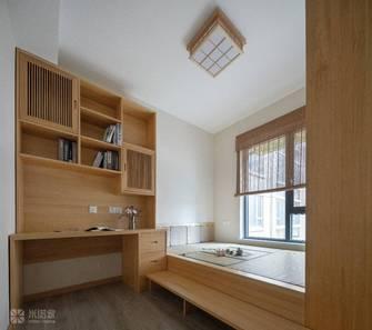 10-15万120平米三室两厅日式风格书房欣赏图