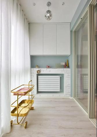 豪华型130平米三室一厅北欧风格阳台欣赏图