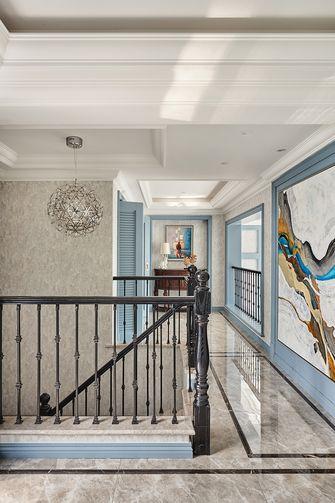 20万以上140平米复式美式风格走廊图片
