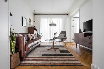 富裕型70平米北欧风格客厅图片