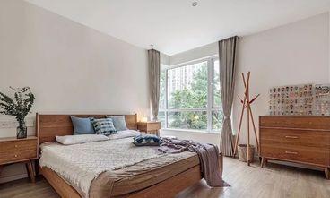 10-15万100平米三室一厅日式风格卧室装修图片大全