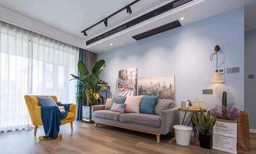 富裕型120平米三室一厅北欧风格客厅装修图片大全