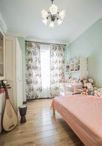 10-15万130平米三室两厅田园风格卧室欣赏图