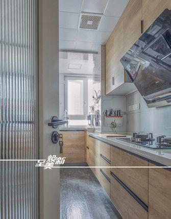 10-15万90平米北欧风格厨房装修案例