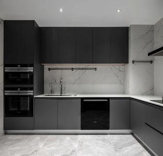 130平米现代简约风格厨房图