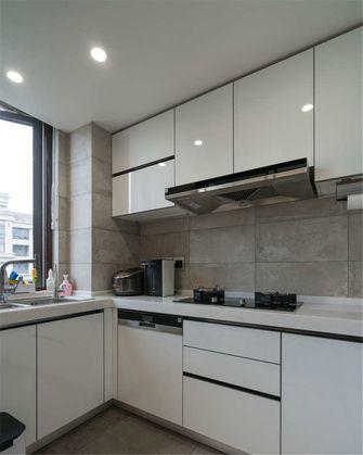 富裕型80平米现代简约风格厨房图