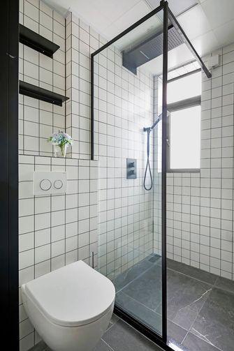 富裕型80平米三日式风格卫生间装修效果图