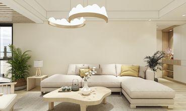 90平米四室一厅日式风格客厅装修效果图
