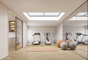 20万以上140平米别墅现代简约风格健身房欣赏图