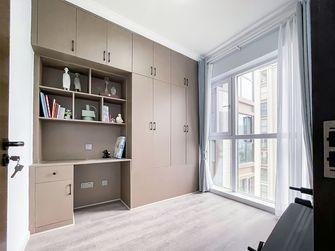 富裕型100平米三现代简约风格书房欣赏图