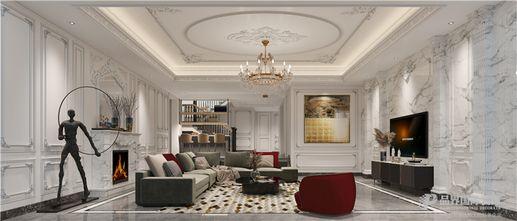 20万以上140平米别墅法式风格客厅图片大全