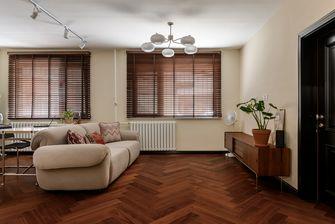 富裕型70平米公寓混搭风格客厅效果图