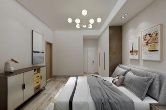 60平米现代简约风格卧室图