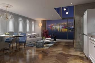 60平米复式新古典风格客厅设计图