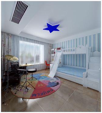 经济型140平米别墅混搭风格青少年房设计图