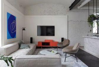 110平米三室一厅工业风风格客厅设计图